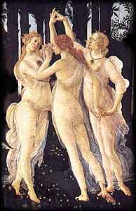 Botticelli - Primavera - Philosopy Art Truth