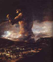 Francisco de Goya - The Colossus