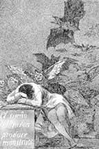 Francisco de Goya - The Sleep of Reason Produces Monsters
