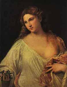 Titian - Flora