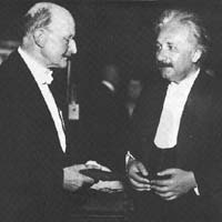 Max Planck and Albert Einstein