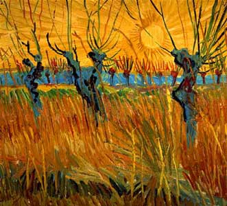 Vincent van Gogh: Grass Trees Painting