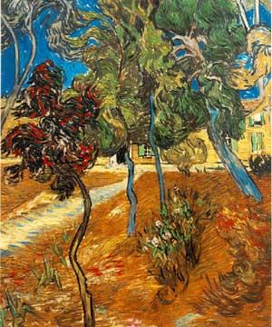 Vincent van Gogh: Trees at the Asylum