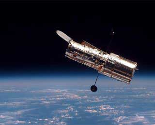 The Hubble Space Telescope was named after the scientist Edwin Hubble and was launched into orbit in 1990.