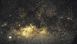 Milky Way Galaxy in the Southern Hemisphere