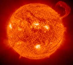 The Earth and other matter (including other planets, asteroids, meteoroids, comets and dust) orbit the Sun.
