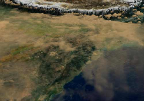 Aerosols / Pollution Over the Indian Sub-continent