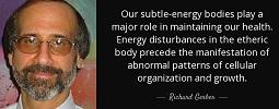 Richard Gerber on Vibrational Medicine and Healing
