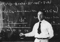 (Werner Heisenberg, Quantum Mechanics) 'Natural science, does not simply describe and explain nature; it is part of the interplay between nature and ourselves.'