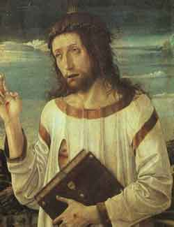 Catholicism / Beliefs of the Catholic Church: Painting of Jesus Christ by Bellini