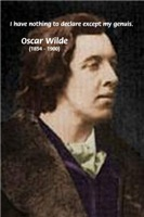 Oscar Wilde: Famous Writer Portrait and Quote