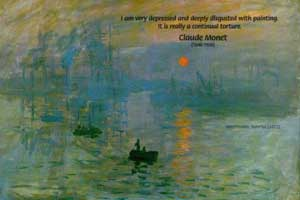 Impression, Sunrise (1872), Claude Monet, (1840-1926)