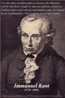 Natural science (physics) contains in itself synthetical judgments a priori, as principles. ... Space then is a necessary representation a priori, which serves for the foundation of all external intuitions. (Immanuel Kant, 1781)