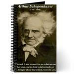 Arthur Schopenhauer Journal: 'The task is not so much to see what no one yet has seen, but to think what no body yet has thoughtabout that which everyone sees.' (Arthur Schopenhauer)