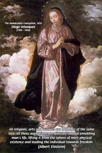 The Immaculate Conception (1619), Diego Velazquez, (1599 - 1660)