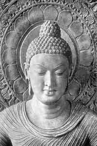 By endeavour, diligence, discipline and self-mastery, let the wise person make (of himself) an island that no flood can overwhelm. (Buddha)