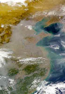 Eastern China Pollution