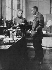 'I then made the hypothesis that the ores uranium and thorium contain in small quantity a substance much more strongly radioactive than either uranium or thorium. This substance could not be one of the known elements, because these had already been examined; it must, therefore, be a new chemical element.' (Marie Curie)