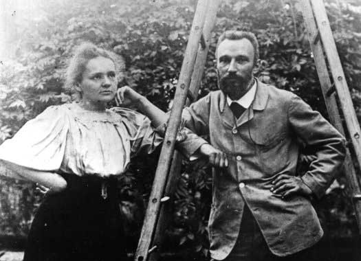 'I noticed the grave and gentle expression of his face, as well as a certain abandon in his attitude, suggesting the dreamer absorbed in his reflections.'  (Marie Curie, on meeting Pierre Curie)